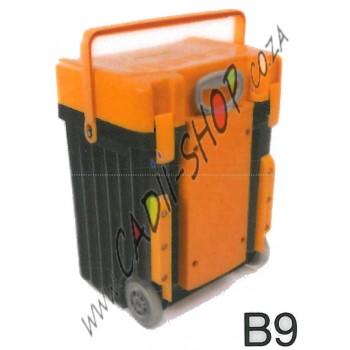 Cadii School Bag - B09 (Mustard Lid - Black Body)