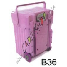 Cadii School Bag - B36 (Lilac Complete)