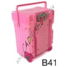Cadii School Bag - B41 (Pink Complete)