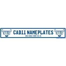 Cadii Custom Name Plate - Blue Bulls Rugby