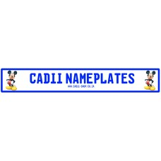 Cadii Custom Name Plate - Mickey