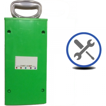 Cadii Repair - CARRY-IN-COLLECT-AGAIN Service - Pull Handle Replacement - Green.