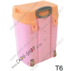 Todii School bag for Toddlers - T06 Pink Body and Peach Lid
