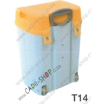 Todii School bag for Toddlers - T14 Blue Body and Yellow Lid