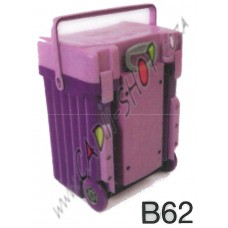 Cadii School Bag - B62 (Lilac Lid - Purple Body)