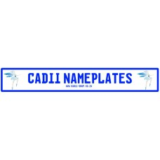 Cadii Custom Name Plate - Pixie
