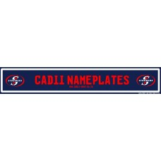 Cadii Custom Name Plate -Stormers Rugby Name Plate