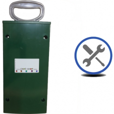 Cadii Repair - CARRY-IN-COLLECT-AGAIN Service - Pull Handle Replacement - Dark Green.