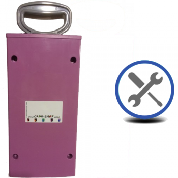 Cadii Repair - CARRY-IN-COLLECT-AGAIN Service - Pull Handle Replacement - Lilac.