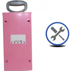 Cadii Repair - CARRY-IN-COLLECT-AGAIN Service - Pull Handle Replacement - Pink.