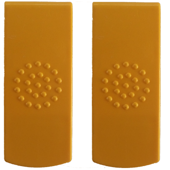 Cadii Locking Clips - YELLOW
