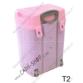 Todii School bag for Toddlers - T02 Lilac Body and Pink Lid