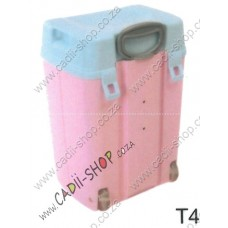 Todii School bag for Toddlers - T04 Pink Body and Blue Lid