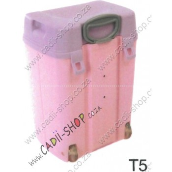 Todii School bag for Toddlers - T05 Pink Body and Lilac Lid