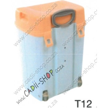 Todii School bag for Toddlers - T12 Blue Body and Peach Lid