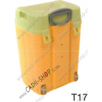 Todii School bag for Toddlers - T17 Yellow Body and Green Lid