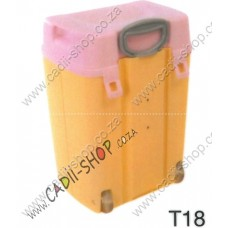 Todii School bag for Toddlers - T18 Yellow Body and Pink Lid