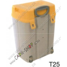 Todii School bag for Toddlers - T25 Grey Body and Yellow Lid